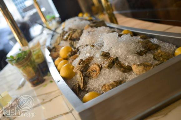 Oyster bar...