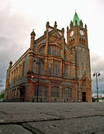 The Guildhall in Derry