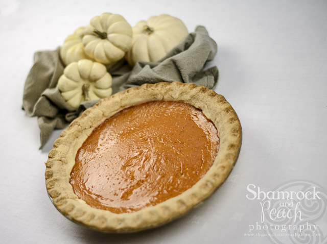 Thankful for family and thanksgiving pies the shamrock for Pumpkin pie with a twist