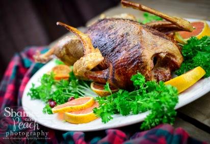 Irish Christmas goose