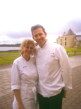 Judith and Chef Noel McMeel