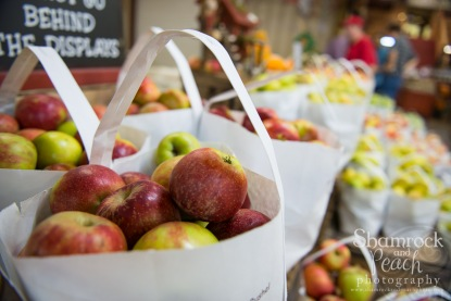 Thankful for local apples