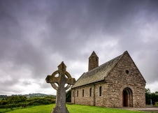 The Saul church - St. Patrick's first church founded in the 5th century