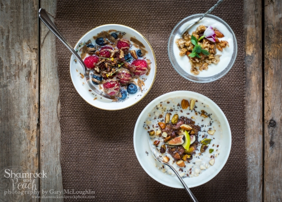 Energizing breakfast bowls