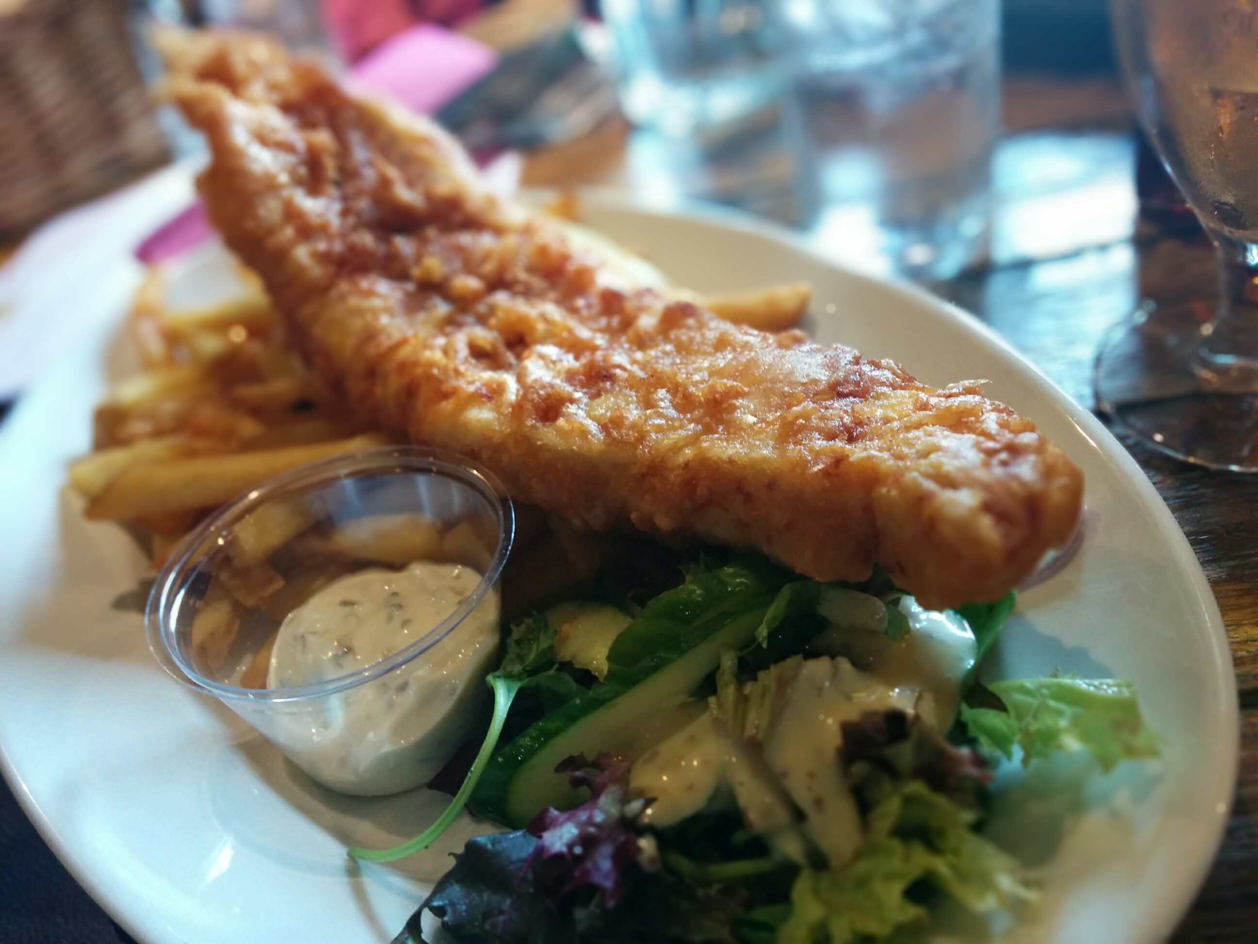 Fish and chips atlanta all about fish for Oak city fish and chips