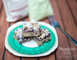 Georgia grown Pecan Bounty Squares (Gluten and Dairy Free)