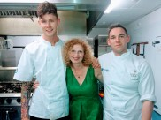 with Chef Marty and Andrew