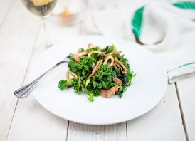 Irish Kale Salad Recipe